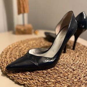 BOGO 50% off!  navy patent Marc Fisher pumps